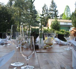 Unsere Gartenterrasse Hotel Haus Litzbrück