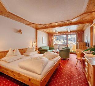 Juniorsuite Zirbe - Biozimmer Hotel Pulverer