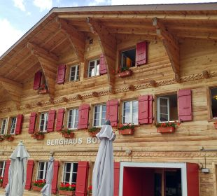 Außenansicht Hotel Berghaus Bort