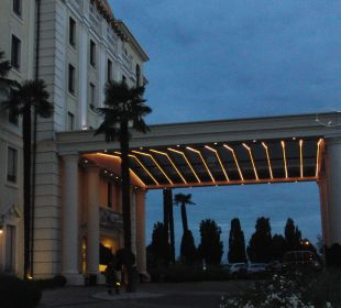 Hoteleingang Hotel Colosseo Europa-Park