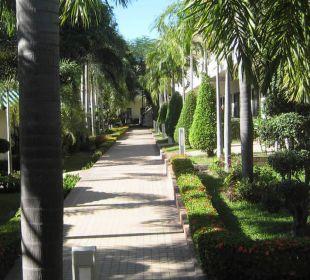 Vor der Tür Thai Garden Resort