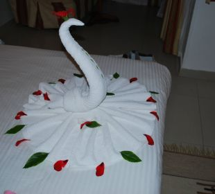 Handtuch-Kunst