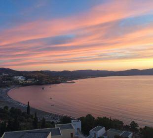 Sonnenaufgang im Lindos Blu Hotel Lindos Blu