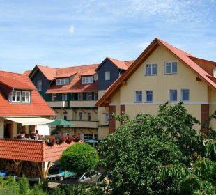 Frühstücksterrasse Apart Hotel Wernigerode