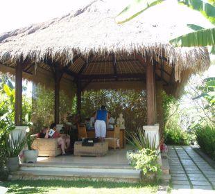 Hotel Rezeption Hotel Nandini Bali Jungle Resort & Spa