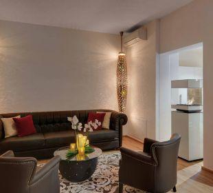Lobby Amedia Luxury Suites Graz