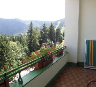 Von unserm Balkon Hotel Panhans