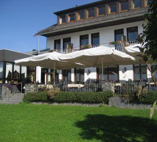 Terrasse Landgasthaus Blücher