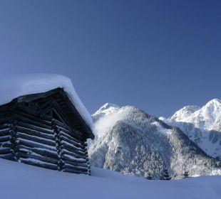 Pension im Winter Pension Alpenblick