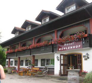 Hotel vom Hof aus  Hotel Mühlenhof