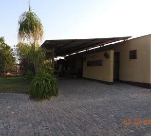 Eingang Etosha Safari Camp