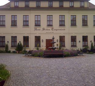 Einladende Außenanlagen Ringhotel Schloss Tangermünde