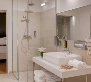 Penthouse Suite Badezimmer Amedia Luxury Suites Graz