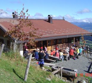 Brettljause auf der Wirtsalm Landgasthof Reitherwirt & Jagdhof Hubertus