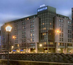 Außenansicht Maritim Hotel Nürnberg