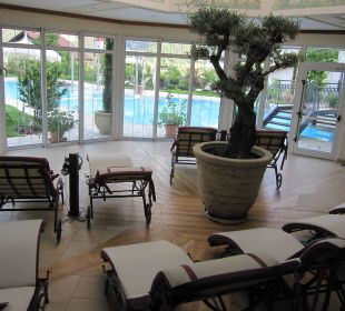 Der Ruheraum am Pool Luxury DolceVita Resort Preidlhof