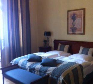 Doppelzimmer Nr. 12 im 1. Stock Hotel Residence Bremen