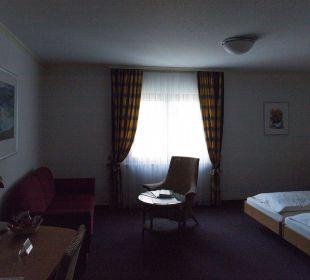 Blick ins Zimmer Ringhotel Krone Schnetzenhausen