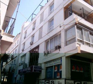 Haupteingang Hotel San Cristobal