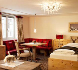 Zirbenholzzimmer Romantik Hotel Die Krone von Lech