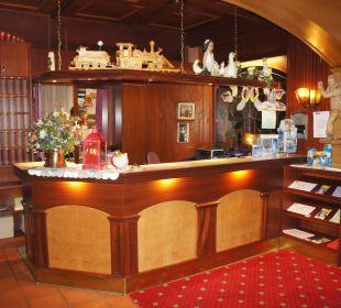 Rezeption Hotel Rustika
