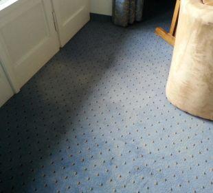 Abgetretener Teppich Hotel Prinz - Luitpold - Bad