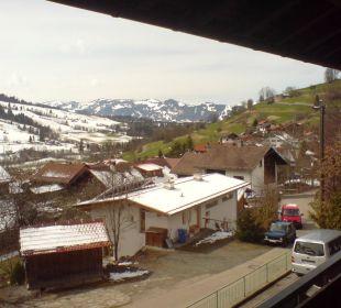 Balkonausblick nach rechts Schwandenhof Ferienwohnungen