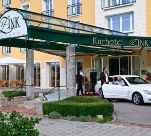 Hotel-Eingang Kurhotel Zink