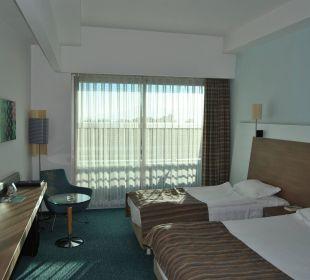 Blick vom Eingang Hotel Concorde De Luxe Resort