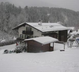 Im Winter Landhaus Degen