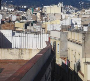 Blick von der Dachterrasse Hotel Ciutat de Barcelona