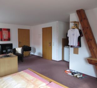 Alte und neue Bausubstanz Hotel-Pension Keller