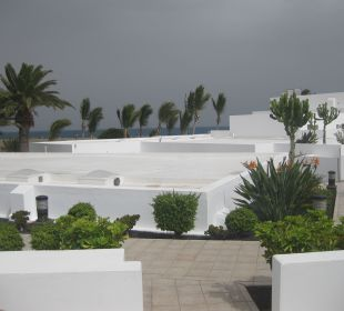 Blick von Terrasse Hotel Las Costas