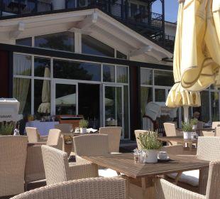 Frühstücksterrasse Grand Hotel Binz by Private Palace Hotels & Resorts