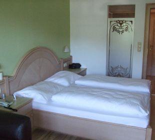 Schlafbereich  Hotel Almhof