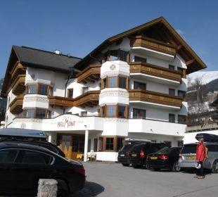 Hotel mit Eingang Hotel Garni Belmont