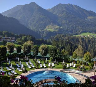 Blick von der Junior Suite Verwöhnhotel Berghof