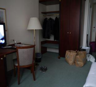Blick vom Fenster Comfort Hotel Weißensee