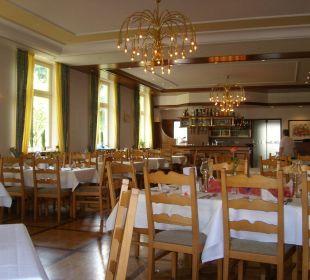 Großer Speisesaal Hotel Schloss Döttingen