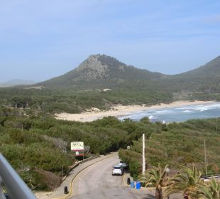 Blick aus demZi in Richtung Cala Agulla Hotel & Spa S'Entrador Playa