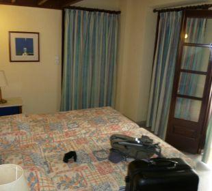 Bett unten Hotel Kalidon