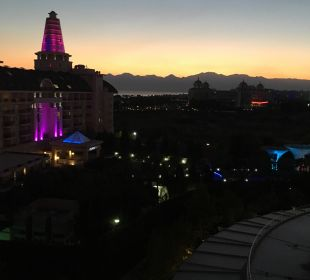 Ausblick aus dem Balkon Hotel Delphin Imperial