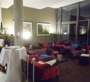 Sitzecke im Lobbybereich arcona Hotel am Havelufer