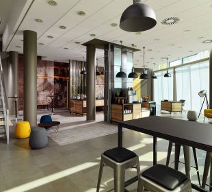 Berlin Foyer Courtyard Hotel by Marriott Berlin Mitte