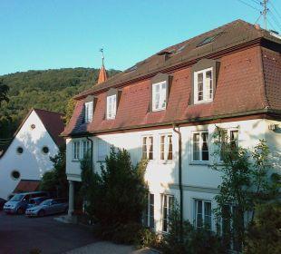 Das Haus mit den Seminarräumen Hotel Schloss Döttingen