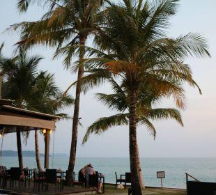 Frühstücksterasse Hotel Chong Fah Beach Resort