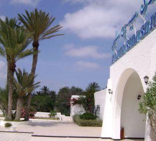 Recepcja / wejście Hotel Sidi Slim