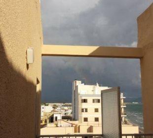Blick vom Balkon JS Hotel Ca'n Picafort