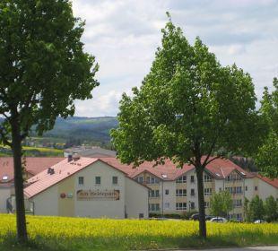 Blick auf Hotelrückseite Hotel Am Heidepark