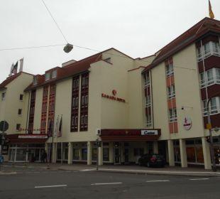 Das Hotel von außen Achat Premium Hotel Neustadt/Weinstraße